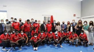 Inaugurado en Getafe el primer polideportivo para refugiados del mundo