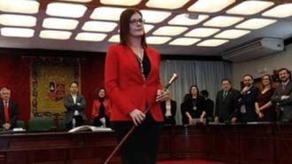 Posse, primera alcaldesa en la historia del municipio en sustitución de Lucas