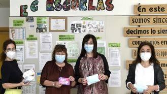 El Ayuntamiento reparte 6.000 mascarillas a alumnos de colegios públicos y concertados