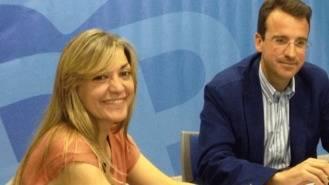 La portavoz adjunta del PP se enfentará al portavoz por la presidencia del partido