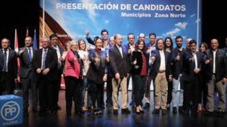 El PP presenta a sus 24 candidatos a las alcaldías de la zona Norte