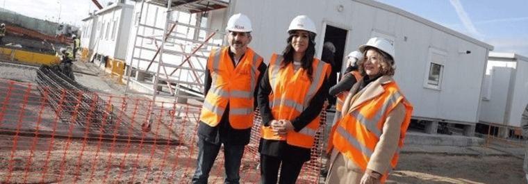 Los primeros refugiados se instalarán en los prefabricados de Vallecas el sábado