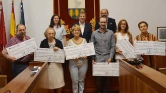 Partida entrega los premios del Concurso de Tortillas para hosteleros y vecinos