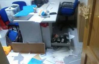 Roban un portátil y una caja fuerte con dinero de la sede del PSOE