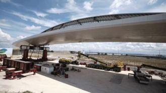 La 'puerta de entrada' a Madrid será el `Puente de la Concordia´, que conceta Valdebebas y Barajas