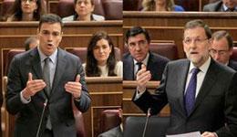 """Rajoy a Sánchez: """"El PSOE estaba mucho mejor con Rubalcaba"""""""