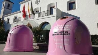 El Ayuntamiento se suma a la campaña `Recicla vidrio por ellas´