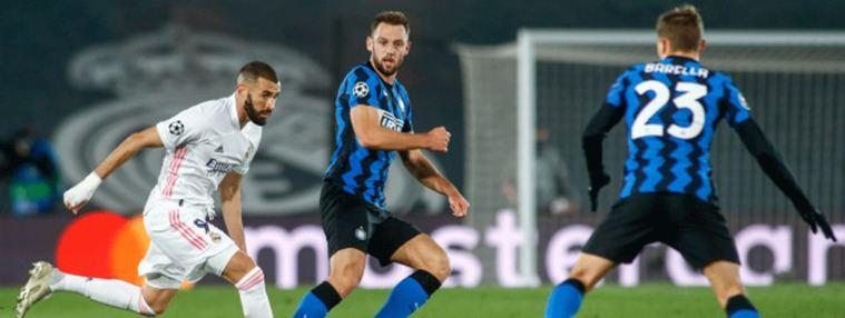 Primer gran examen de Champions para el Madrid frente al Inter