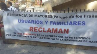 Famlias y usuarios de una residencia de mayores se manifestarán por la 'nefasta gestión'