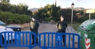 La Guardia Civil corta el acceso al chalé de Iglesias y solo permite el paso a residentes