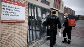 Tres de cada cuatro fallecidos en residencias madrileñas fue por Covid-19
