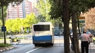 Piden la retirada del carril bus-taxi de la Avda.de San Luis entre Arturo Soria y Avda. de Burgos