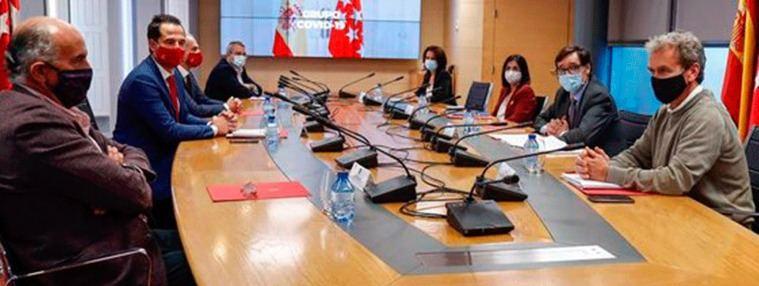Gobierno y Madrid acuerdan un criterio homogéneo para restricciones en grandes municipios