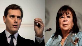 Narbona pide a Rivera 'cordura' sobre el veto al PSOE, él contesta que Sánchez no merece respeto