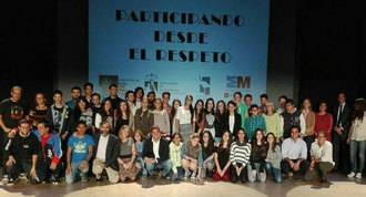 50 jóvenes crean 3 cortos para el proyecto `Participando desde el respeto´