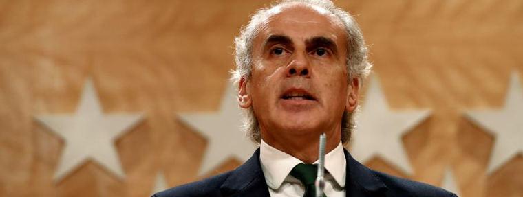 Ruiz Escudero: La cifra real de contagiados en Madrid está 'por encima de los 50.000'