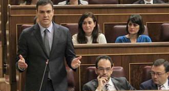"""Sánchez a Rajoy: """"La unidad de España no se defiende con querellas"""""""
