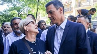 Sánchez cuelga el cartel de aforo completo en un mitin, 1.000 personas se quedan fuera