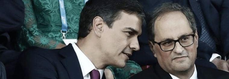Torra y Sánchez bajo el influjo del 9