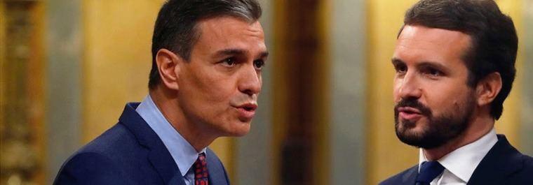 Los pactos imposibles PP-PSOE: Un pasito p'alante y otro p'atrás