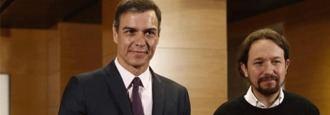 La chistera de Sánchez saca un 'Gobierno de cooperación' para Iglesias