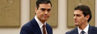 Rivera y su reloj de dos manecillas: Iglesias y Abascal