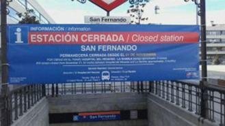 Alertan del coste de 1M de € del servicio sustitutivo de buses de la L7 de Metro