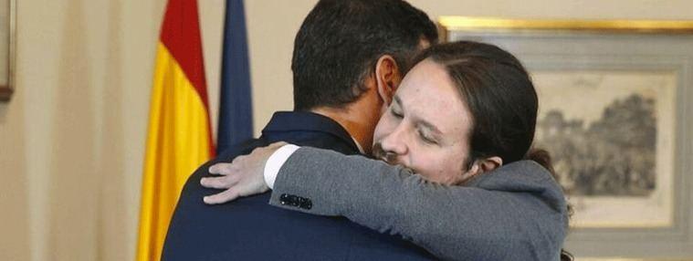 Sánchez e Iglesias pisan el acelerador y hacen público el programa de Gobierno