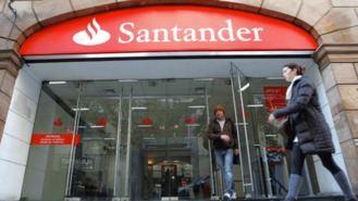 El Santander cierra otras 175 oficinas por el ERE, 17 de ellas en Madrid