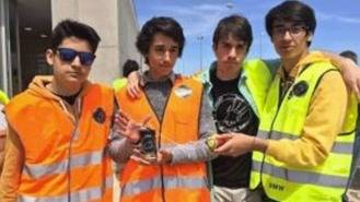 Alumnos de El Burgo ganan el concurso de satélites en lata de refresco de ESA