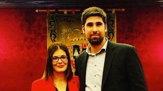 Alex Martín, nuevo secretario general del PSOE con el 92,18% de los votos