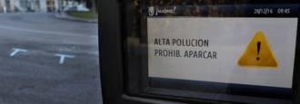 Madrid mantiene el viernes la prohibición de aparcar en la zona SER
