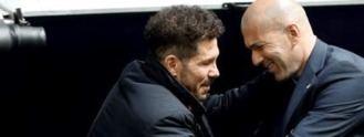 Los mundos distantes de Simeone, Zidane y Bordalás