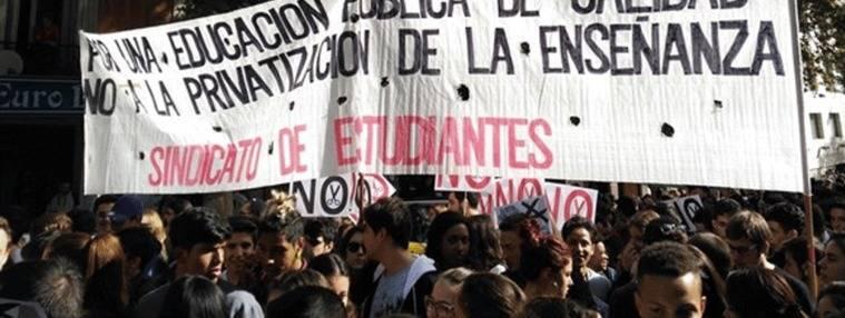 Miles de estudiantes toman el centro de Madrid contra las