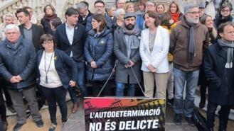 Los soberanistas se manifestarán el 16 de marzo en Madrid contra el jucio del 1-O