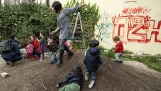 Un solar abandonado en La Latina desde hace veinte años se convierte en jardín histórico