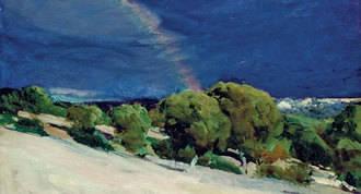 'Sorolla, tierra adentro', exposición de 35 paisajes del 'pintor de la luz'