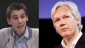 Pablo Soto y Julian Assange, entrevista en el encuentro `Ciudades Democráticas´