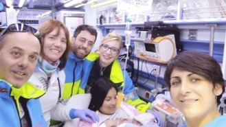 El Summa asiste al parto de un niño en una vivienda del municipio
