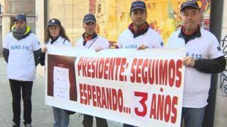 Trabajadores del SUMMA se movilizan por la precariedad del servicio