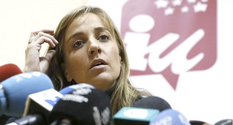 Tania Sánchez comparece en la comisión de investigación