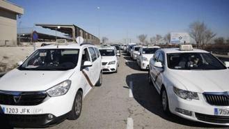 Garrido plantea un 'plan de choque' trasversal para el taxi, tras concluir la huelga