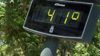 Temperaturas de más 40º en la región excepto en zonas de la Sierra