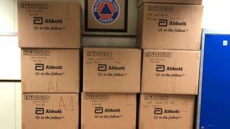 La Comunidad deja 12.000 test de antígenos almacenados durante meses