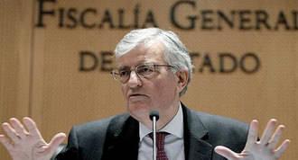 Torres-Dulce plantea una querella contra Mas, Rigau y Ortega
