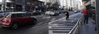 Bajan un 35% los desplazamientos en la capital, pero aumenta el uso del coche