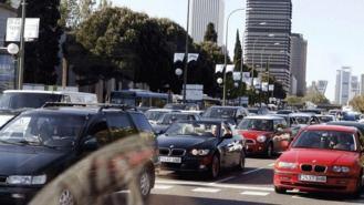 El tráfico es el causante del 80% de la contaminación acústica de Madrid