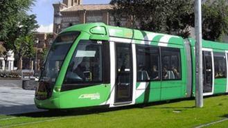 Los trabajadores del tranvía realizarán paros parciales una semana al mes