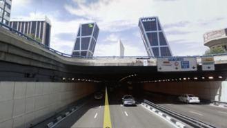 Los túneles de Sor Angela de la Cruz y Plaza Castilla se reabren esta semana