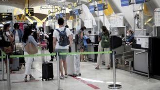 Madrid registra un 87,8% menos de turistas internacionales en julio